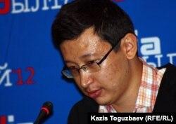Алишер Еликбаев, блогер.