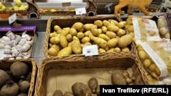 Цены на картофель в Москве