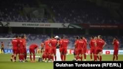 Кыргызстандын футбол боюнча курама командасы.