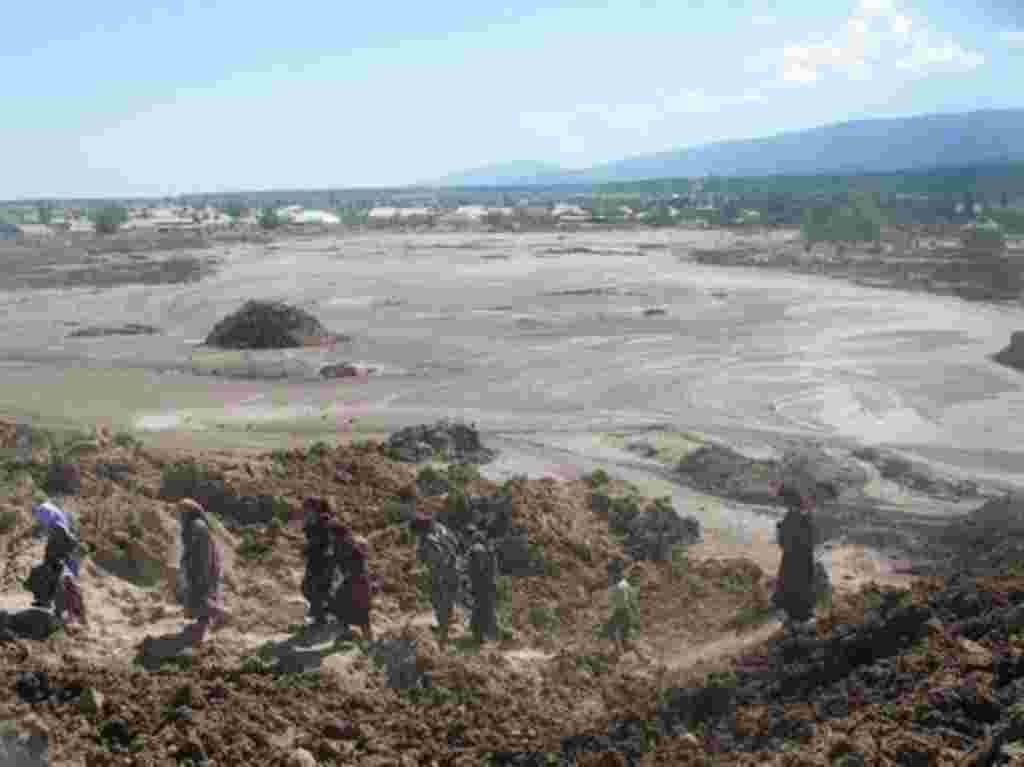 Tajikistan - Flood destroyed 90 houses in Khorasan district of Khatlon region, 23Apr2009
