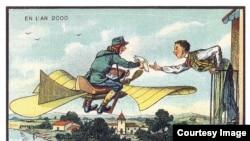 У 1899 році французькі художники спробували уявити, як виглядатиме світ у 21 столітті