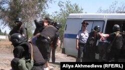 Антитеррористические учения в Алматинской области. Иллюстративное фото.