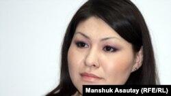 Асель Лимжанова, главный редактор видеопортала «Стан.ТВ». Алматы, 11 января 2012 года.