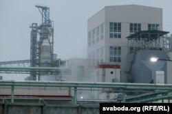 Сьветлагорскі завод вытворчасьці сульфатнай беленай цэлюлёзы, архіўнае фота