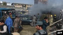 Pamje pas shpërthimit të sotëm në Kabul