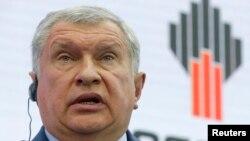 """რუსეთის სახელმწიფო კომპანია """"როსნეფტის"""" აღმასრულებელი დირექტორი, იგორ სეჩინი"""