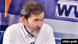Проживающий в Иране этнический казах Хаджи Мухаммед Шадком. Алматы, 25 мая 2015 года.