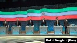 نخستین مناظره بین شش نامزد ریاست جمهوری ایران، عصر روز جمعه انجام شد