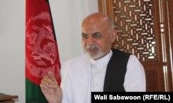 Ашраф Гани, кандидат в президенты Афганистана. Кабул, 15 августа 2014 года.