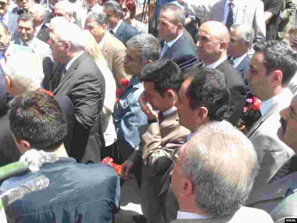 Məmməd Əmin Rəsulzadənin Ankarada qəbirüstü xatirə kompleksinin açılışı. 28 may 2008