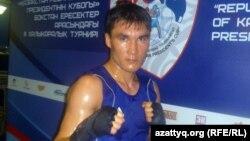 Боксер Серик Сапиев, чемпион Олимпийских игр в Лондоне.
