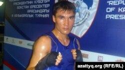 Боксер Серік Сәпиев. Алматы, 8 мамыр 2012 жыл.