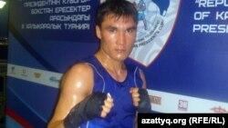 Боксшы Серік Сәпиев. Алматы, 8 мамыр 2012 жыл.