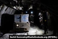 Зйомки у шахті
