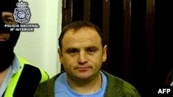 Veselin Vlahović prilikom hapšenja u Španiji, 2. mart 2010.