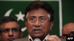 Поранешниот пакистански претседател Первез Мушараф.
