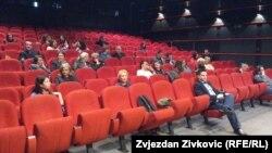 """Sa sarajevske premijere filma """"Njihovim očima: svjedoci pravde"""""""