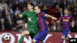 """Первое противостояние """"Барселоны"""" с """"Рубин""""ом. Тогда выиграли казанцы-2:1."""