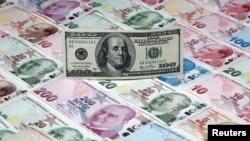Түрк лирасы жыл башынан бери долларга карата 40% наркын жоготту.
