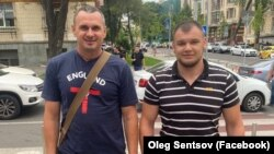 Олег Сенцов и Богдан Грицай