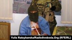 Полонений сепаратист, якого обміняли на чотирьох українських бійців