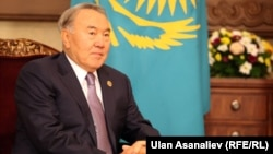 Президент Казахстана Нурсултан Назарбаев (архив)