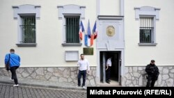 Francuska ambasada u Sarajevu 15. jula 2016.