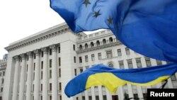 Украина, Киев. 22-февраль.