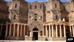 Римський амфітеатр у сирійській провінції Дараа, який належить до Всесвітньої спадщини ЮНЕСКО