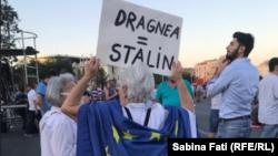 Două doamne care nu au încredere în PSD, Bcurești, 12 august 2018.