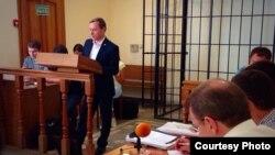 Вячеслав Черноус на суде дает показания против бывшего мэра Томска