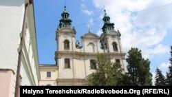 Костел Марії Магдалини, де розташовується органний зал