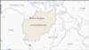د افغانستان په نقشه کې بالامرغاب ولسوالۍ