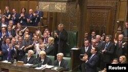Pamje nga një seancë e Parlamentit të Britanisë