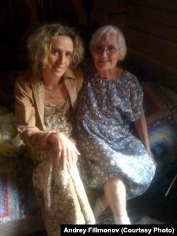 Катя Марголис и Марина Густавовна Шпет