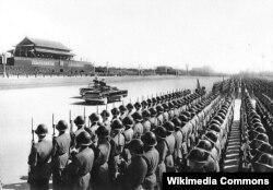 Военный парад в Китае, 1959 год