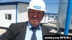 Киелітас ауылдық округі әкімінің орынбасары Батырхан Рашидов. 17 сәуір 2014 жыл.