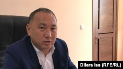 Шымкент қалалық энергетика және коммуналдық шаруашылық басқармасы басшысының орынбасары Нұрлан Жамангөзов. Шымкент, 22 қазан 2018 жыл.