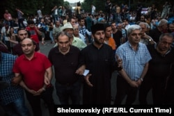 """Электромайдан"" в Ереване. Июнь 2015 года"