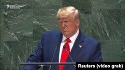 ԱՄՆ նախագահ Դոնալդ Թրամփի ուղերձը ՄԱԿ-ի Գլխավոր ասամբլեայի 74-րդ նստաշրջանում, Նյու Յորք, 24 սեպտեմբերի, 2019թ.