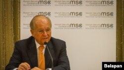 Predsedavajući Minhenske bezbednosne konferencije Volfgang Išinger.