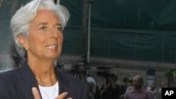 Извршниот директор на Меѓународниот монетарен фонд, Кристин Лагард