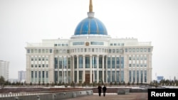 Қазақстан президентінің Астанадағы резиденциясы. (Көрнекі сурет)