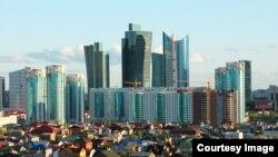 Астана қаласының көрінісі.