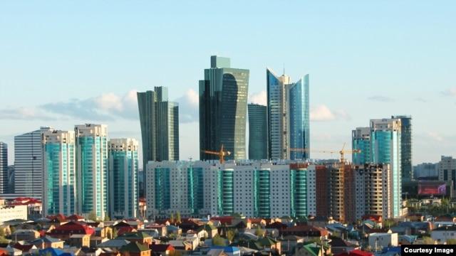 Astana's skyscrapers