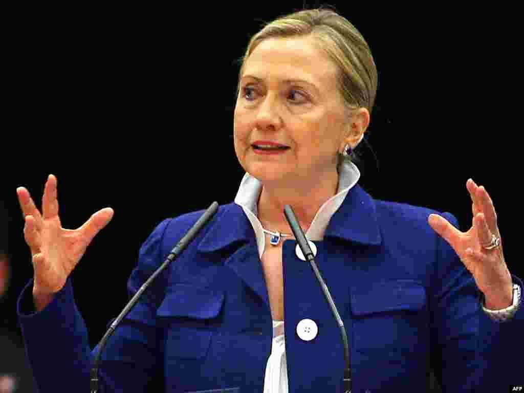 2. АКШ дәүләт секретаре Һиллари Клинтон (63)