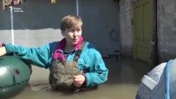 Паводки в Петропавловске подтопили еще 15 домов