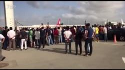'Qarabağ'ı hava limanında belə qarşıladılar