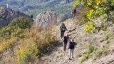 «Бабине літо» на гірському хребті Чалки поблизу Судака (відео)