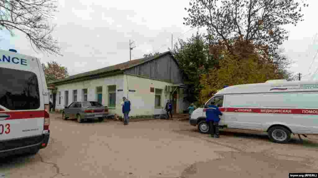 Будівля районної швидкої допомоги